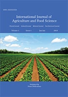 International Journal Of Agriculture And Food Science